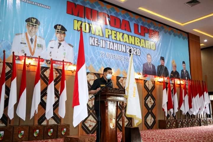 Image : Wali Kota Buka Musda DPD LPM ke-2 Pekanbaru