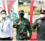 Image : Kadis PUPR Dampingi Wali Kota Tinjau Kegiatan Karya Bakti TNI