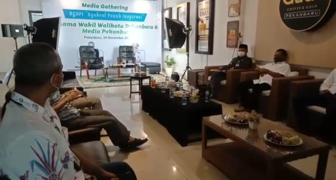 "Image : Wakil Walikota Hadiri ""Ngopi"" Bersama Pegadaian Pekanbaru"
