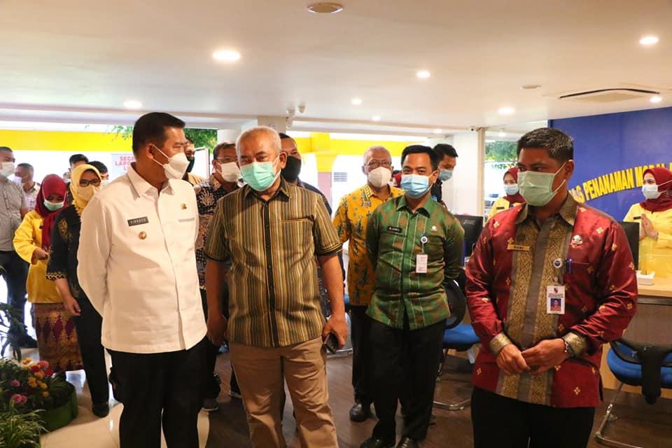 Wali Kota Pekanbaru Apresiasi Kedatangan Wali Kota Bekasi ke MPP Pekanbaru