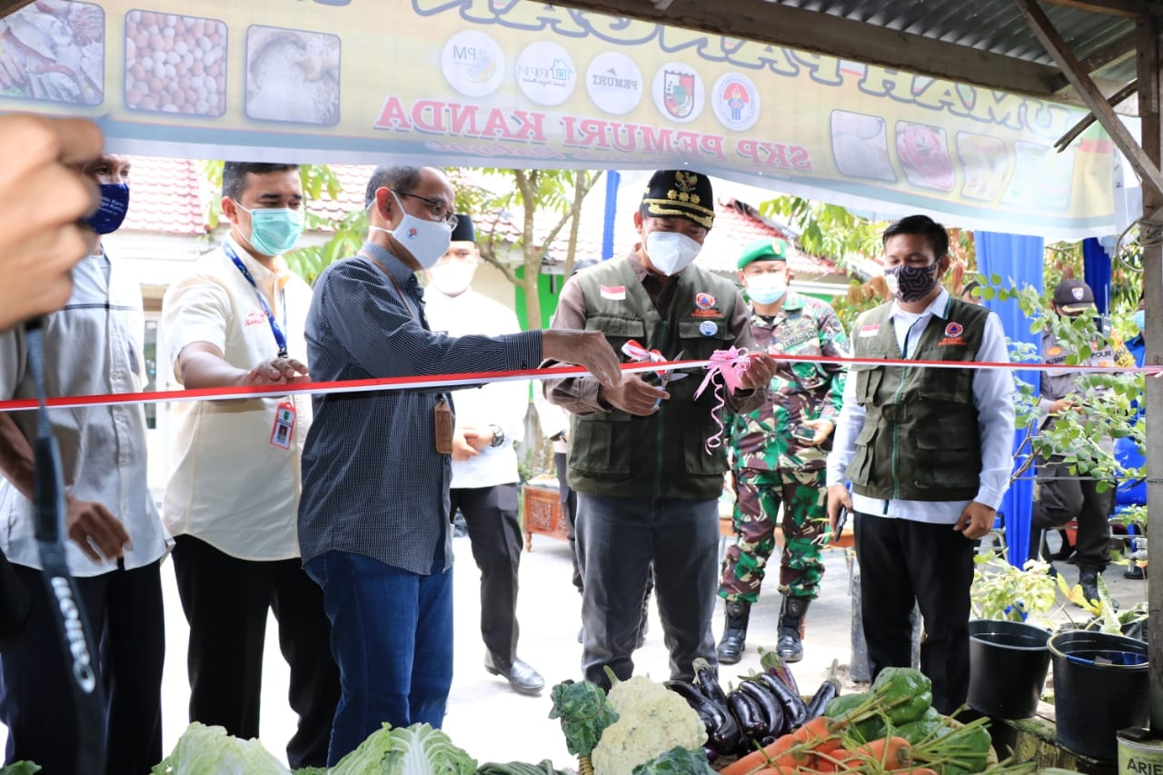 Wali Kota Resmikan Rumah Pangan Madani ke-85 di Kelurahan Tuah Madani