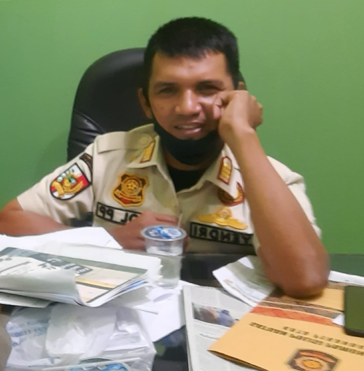 Satpol PP Ajak Perangkat di Kecamatan Bersama Atasi PKL