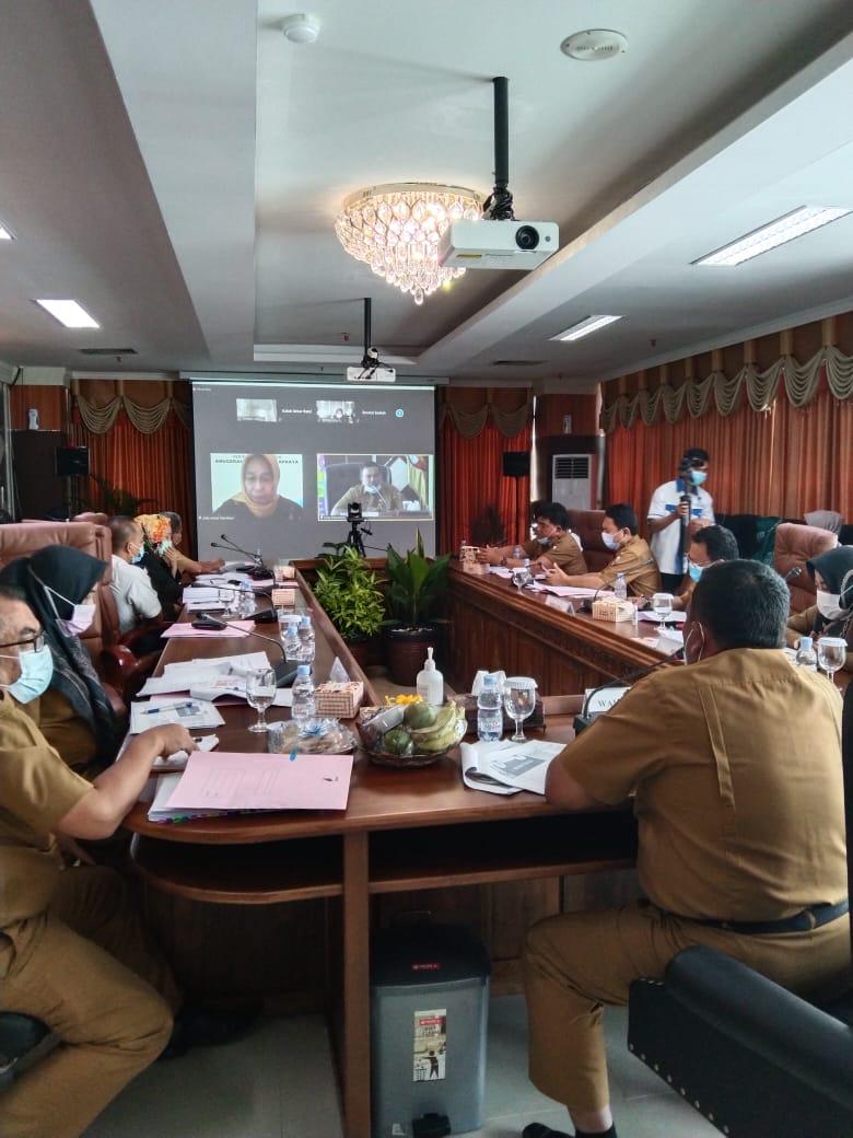Tim Verifikasi Pusat Puas dengan Pemaparan Pemko Pekanbaru