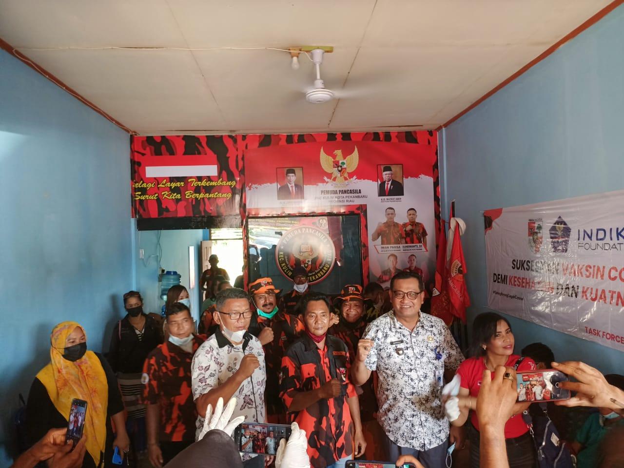 Camat Kulim Apresiasi Kegiatan Berbagi PAC Pemuda Pancasila