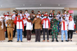 Image : Pemko dan LSM LIRA Gelar Vaksinasi Massal di Central Plaza