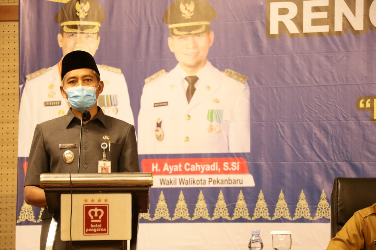 Wawako Pekanbaru : RKPD Tahun 2022 Prioritaskan Tiga Sektor