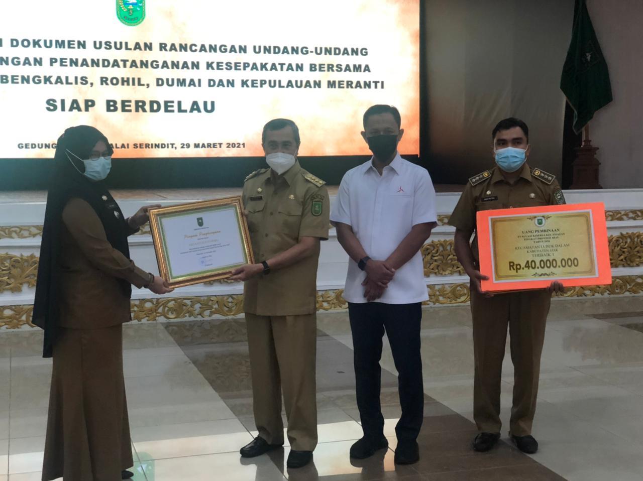 Kecamatan Rumbai Terbaik 2 Lomba EKK Tingkat Provinsi Riau