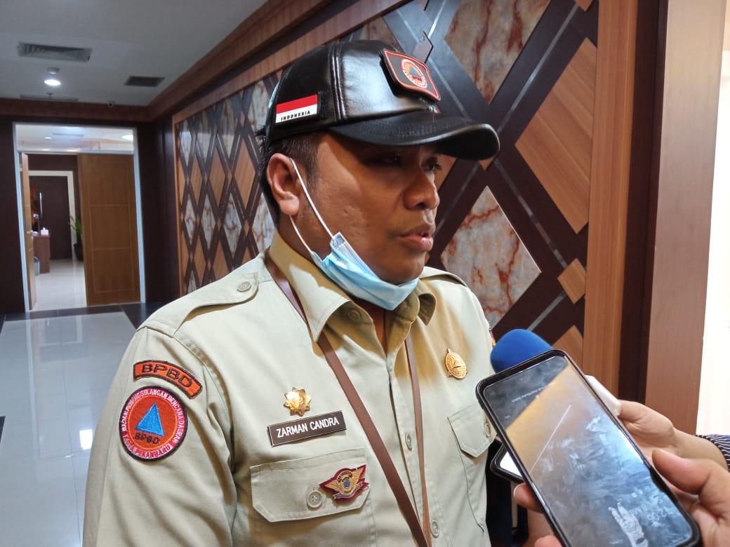 BPBD Salurkan Puluhan Ribu Masker ke Kecamatan
