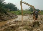 Image : Dinas PUPR Normalisasi Sungai Sibam