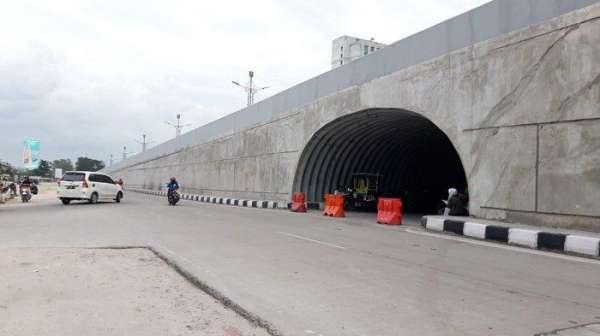 Terowongan Flyover Mal SKA Difungsikan Februari