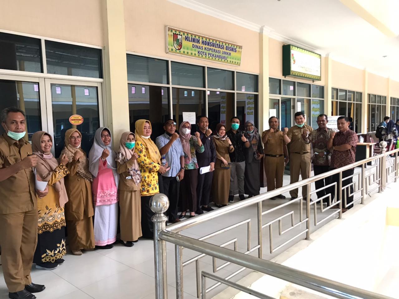 Diskop UKM Terima Kunjungan Kerja DPRD Kabupaten Pasaman