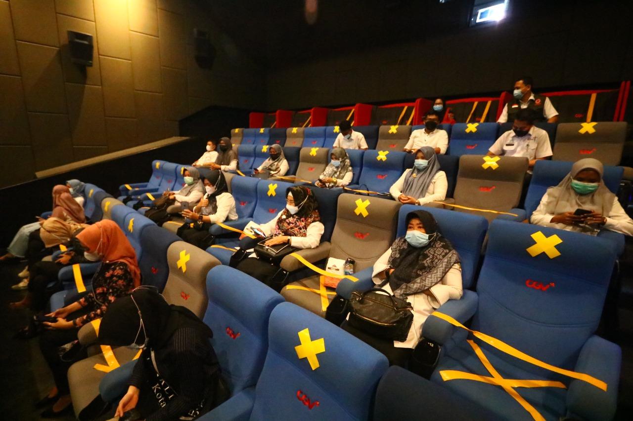 Dorong Pemulihan Ekonomi, Bioskop di Pekanbaru Mulai Beroperasi