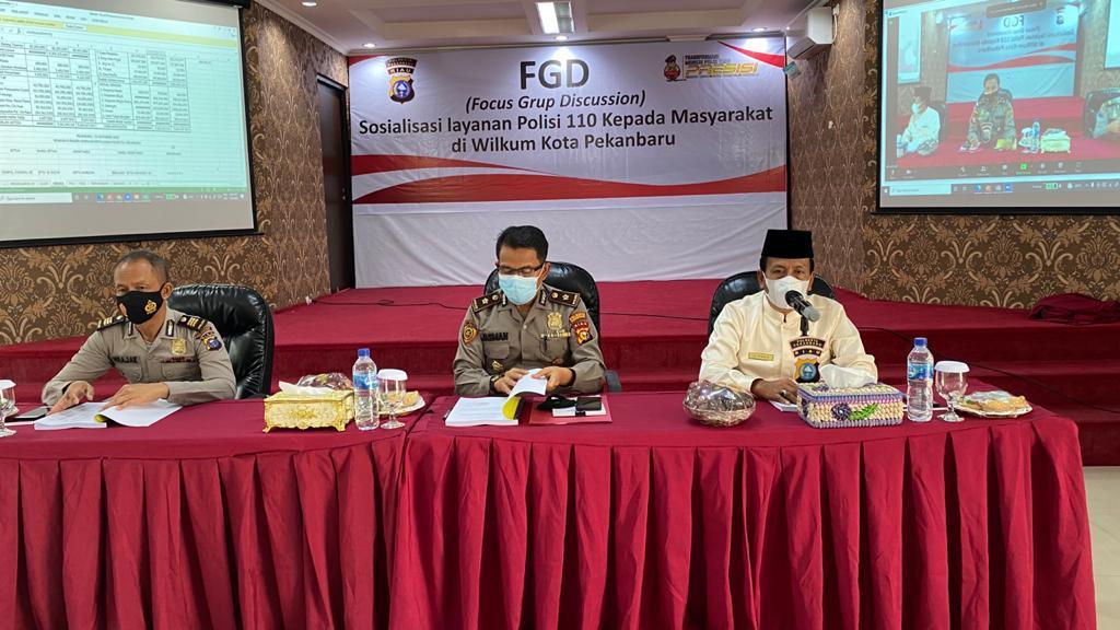 Image : Kadiskop Hadiri RAT Primer Koperasi Kepolisian Polresta Pekanbaru