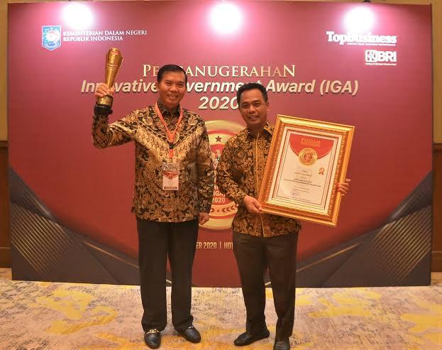Image : Penghargaan Innovative Government Award (IGA) 2020.