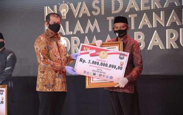 Image : Juara I Inovasi Daerah Tatanan Normal Baru untuk Sektor Hotel